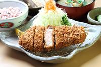 松阪豚とろロースかつ膳